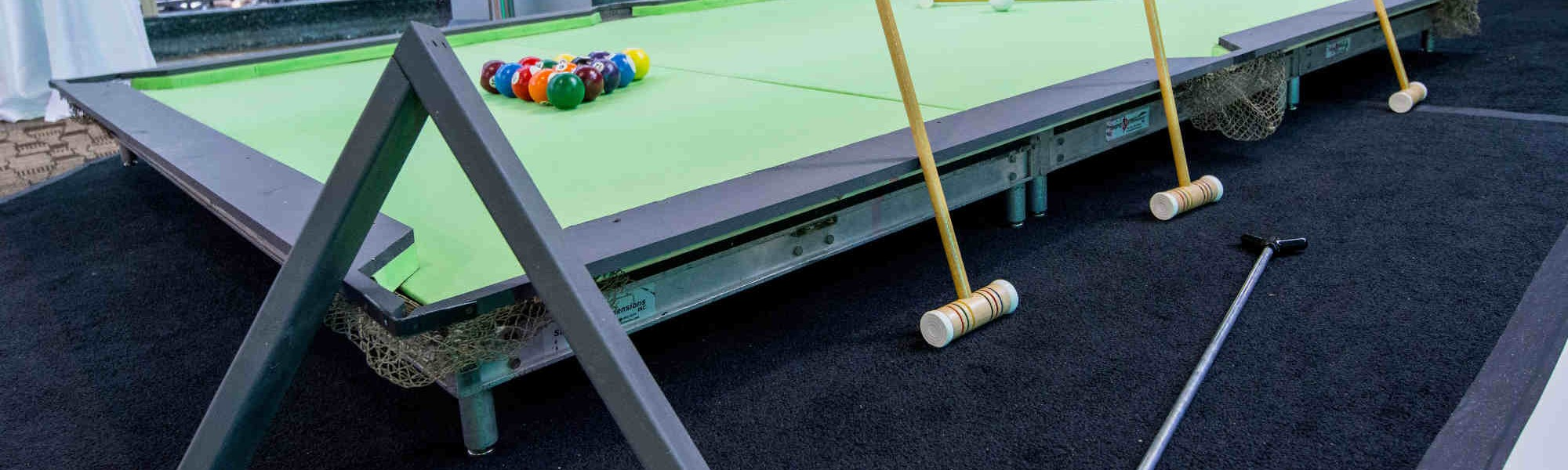 Giant Games Pool Table slider