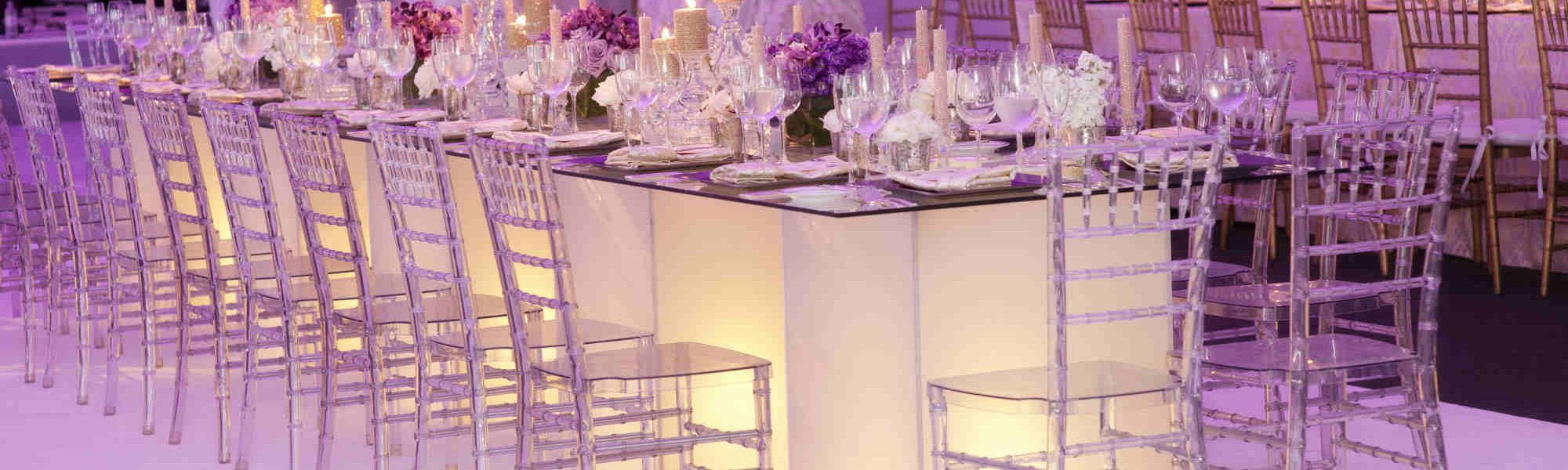 Plantation Wedding head table slider