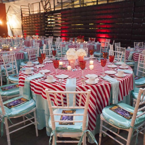 Vintage Carnival themed tables