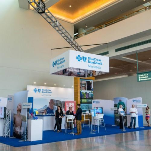 Medical conference setup