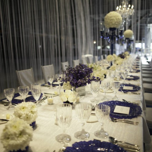 Tablescape design for party