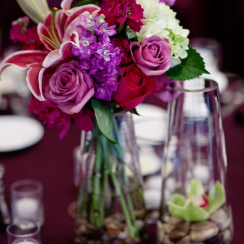 Wedding centerpiece design