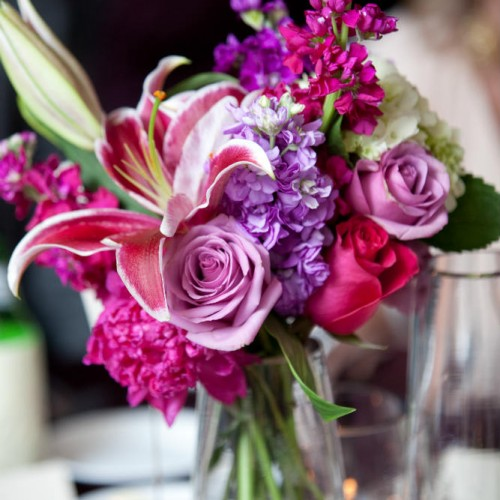 Wedding centerpieces - floral vases