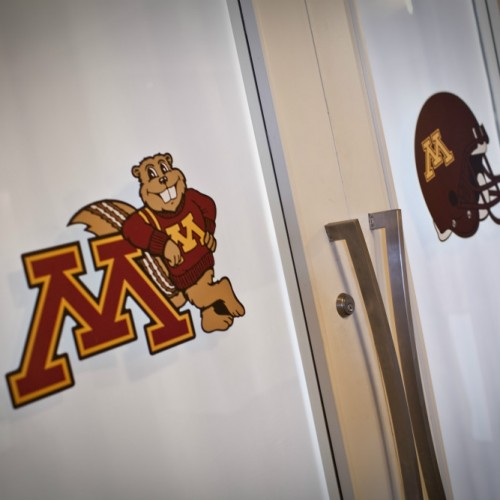 Gopher themed Bar Mitzvah - Gopher doors