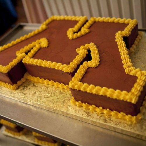 Minnesota Gophers cake