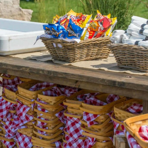 Summer Employee Picnic Baskets