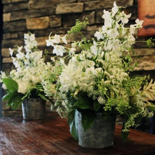 Allen Wedding White Flowers