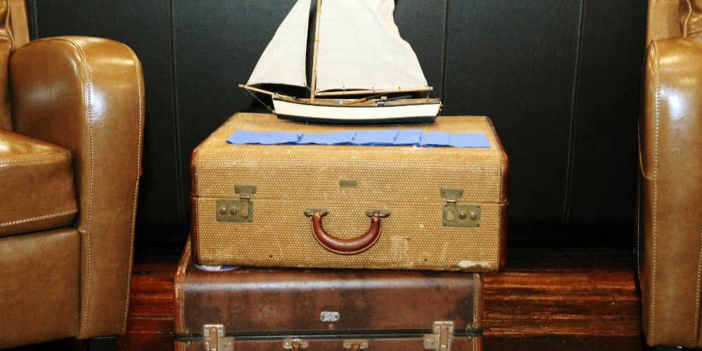 Allen Wedding suitcases
