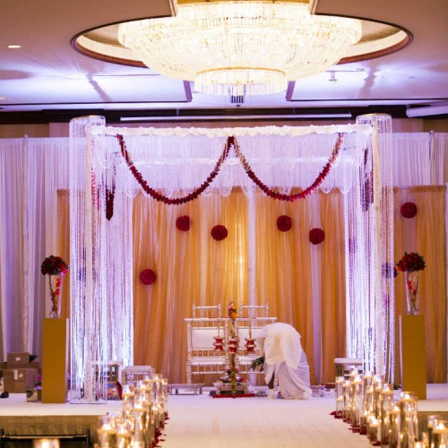 Mathur Ceremony Mandap