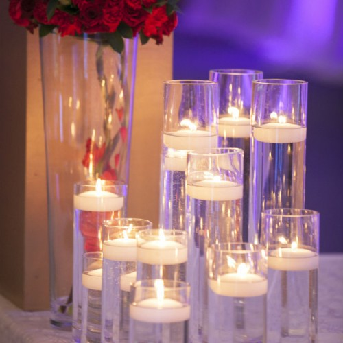Mathur Reception Candles