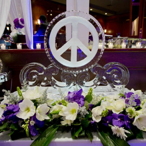 Affremov Peace Ice Sculpture