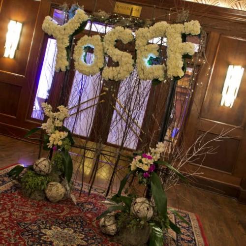 Affremov entrance floral