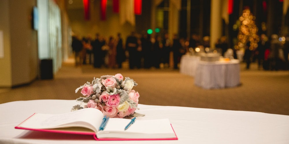 Herreid book floral wedding