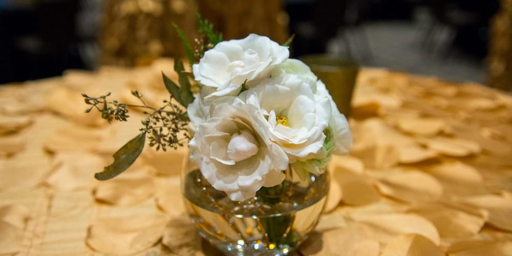 Nordic Ware white floral