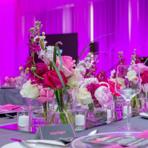 Carlson Fellows 2016 floral and drape