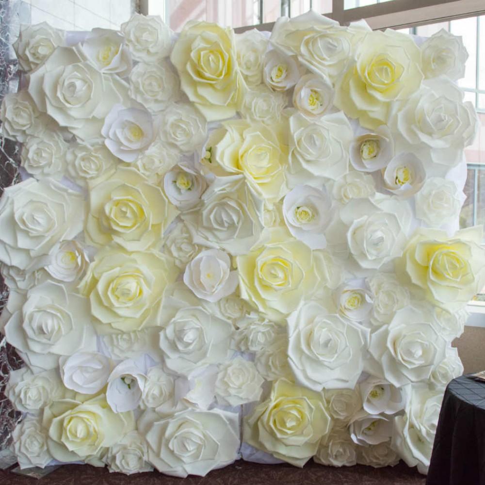Casey Gatsby wedding floral wall