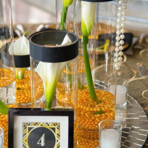 Casey Gatsby wedding table number
