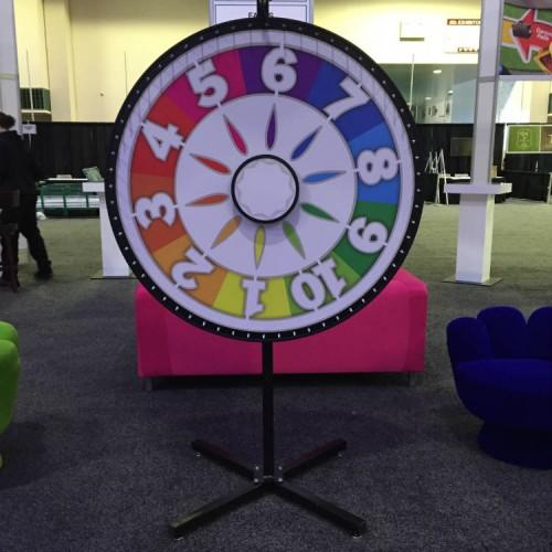 Giant Games Spinning Wheel