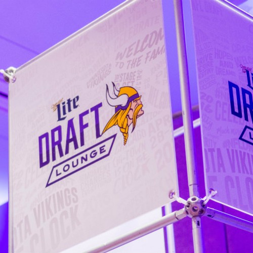 Vikings Draft 2016 sign project image