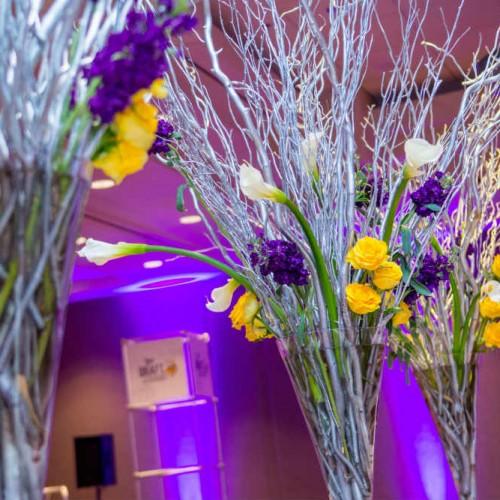 Vikings Draft floral