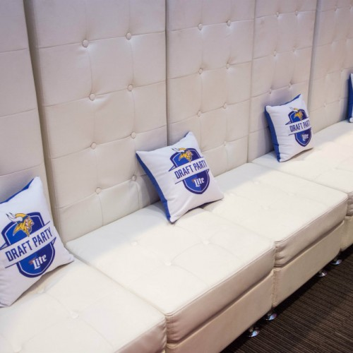 Vikings Draft pillows