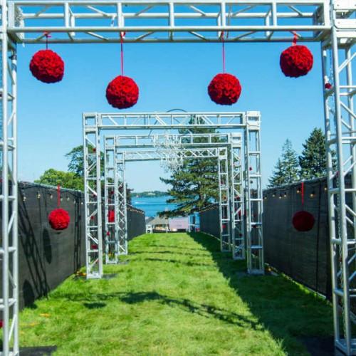 Cambria 2016 Entrance roses