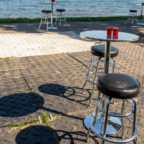 Cambria 2016 high tops and stools