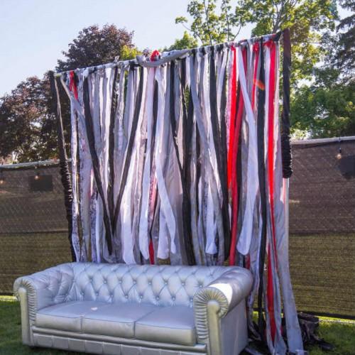 Cambria 2016 silver sofa