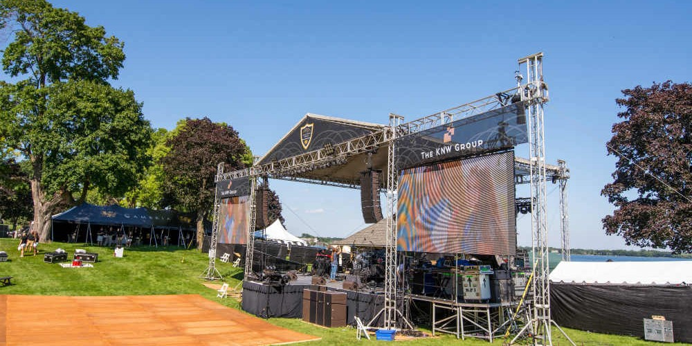 Cambria 2016 stage