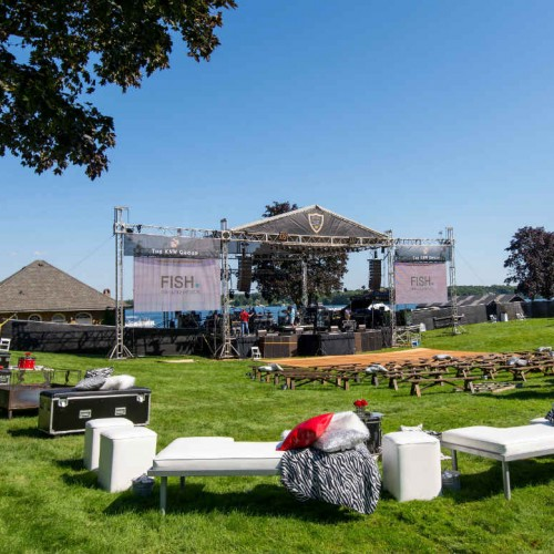 Cambria 2016 stage and seats
