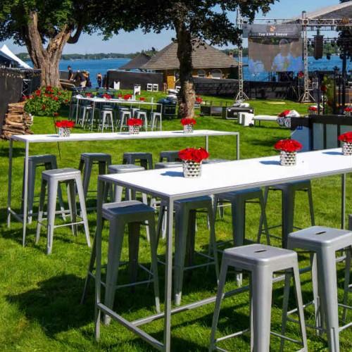 Cambria 2016 white tables
