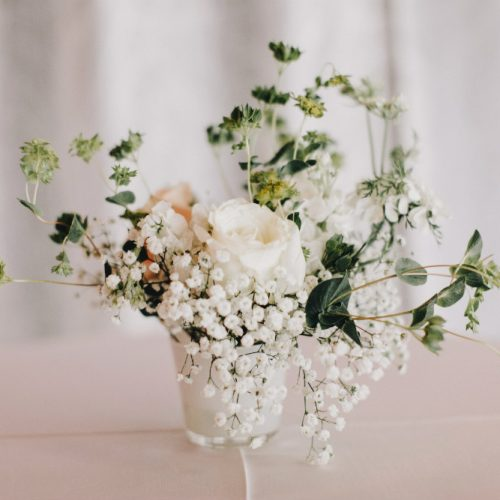 van beck white floral