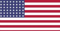 48 star american flag 230-x-120