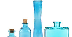 Blue Glass 230 x 120