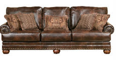 Brown Sofa 230 x 120