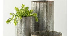 Corrugated Metal 230 x 120