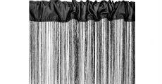 Fringe Black 230 x 120