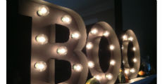 Marquee Letters 230 x 120