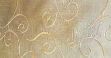 Scroll Gold 230 x 120