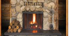 Stone Fireplace 230 x 120