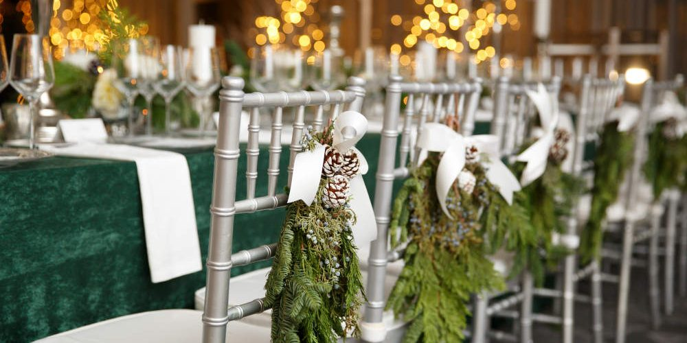 Carlson Holiday 2016 Silver Chairs