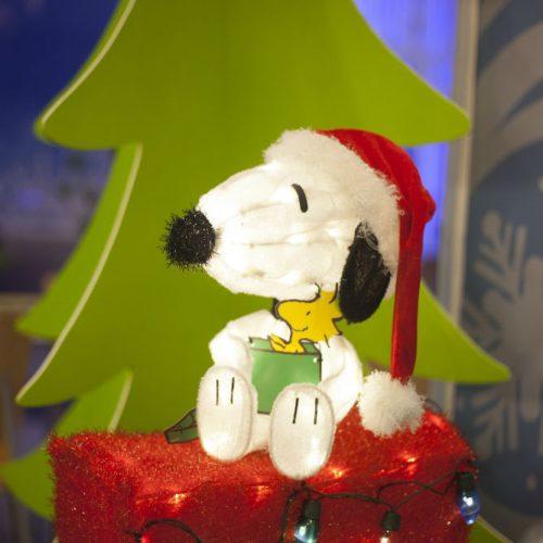 Essentia Tea Snoopy on mailbox