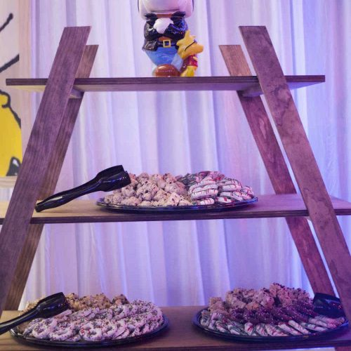 Essentia Tea Cookie Ladder Buffet