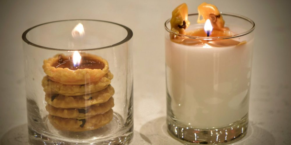 Mashaal Bnai Cookie Candles