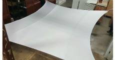 Spandex Wall 10x10 White 230 x 120