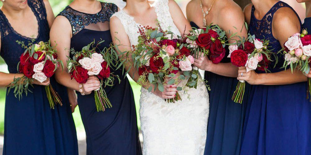 Swanson Loper bridesmaids