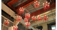 Red Crystal Chandeliers