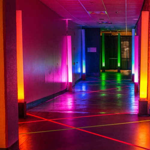 Essentia Glow Colorful Entrance