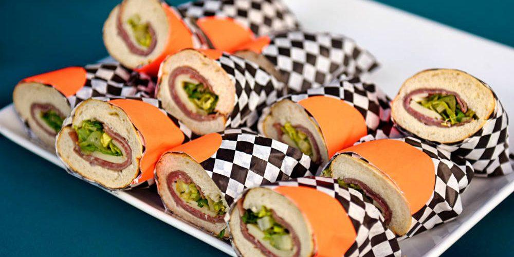Gabrielsen Grad party sandwiches