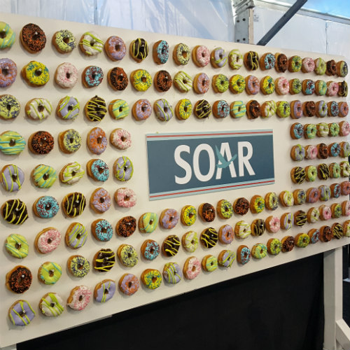 Allianz Soar 2017 Donut Wall 500 x 500